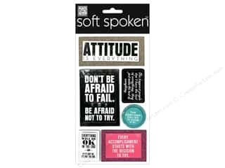 Me & My Big Ideas Soft Spoken Stickers Attitude Is Everything