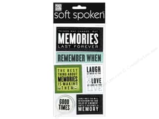 stickers: Me & My Big Ideas Soft Spoken Stickers Memories Last Forever