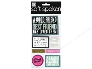 Me & My Big Ideas Soft Spoken Stickers A Good Friend