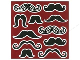 "Clearance Sunworks Construction Paper 9 x 12: Me&My Big Ideas Paper 12""x 12"" Mustache 9 (15 sheets)"