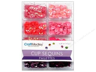 Craft Medley 7 mm Cupped Sequins Princess