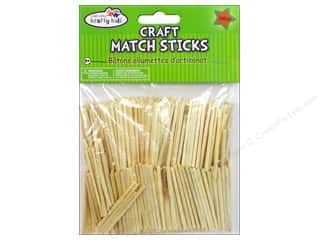kids crafts: Craft Medley Wood Craft Match Sticks 2 in. Natural 750 pc.