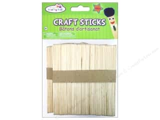 Popsicle sticks: Craft Medley Craft Sticks 4 1/2 in. 100 pc.