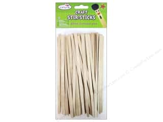 Craft Medley Wood Craft Stir-Sticks 7 1/2 in. 80 pc.