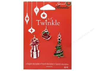 Sweet Beads EWC: Sweet Beads EWC Twinkle Charm Metal Silver Assorted 2 3pc