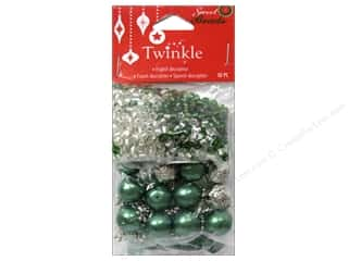 Sweet Beads EWC: Sweet Beads EWC Twinkle Bead Christmas Mix Green 90gr