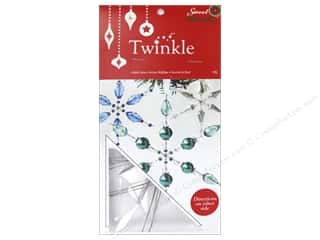 "Sweet Beads EWC: Sweet Beads EWC Twinkle Frame 4"" Snowflake Large 9pc"