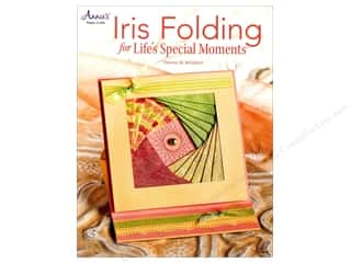 die cuts: Annie's Iris Folding For Life's Special Moments Book by Sharon M. Reinhart
