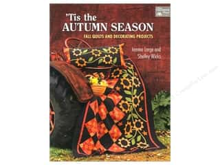 Home Decor Sale: That Patchwork Place Tis the Autumn Season Book by Jeanne Large and Shelley Wicks