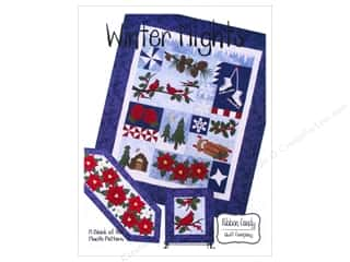 Quilt Company, The: Ribbon Candy Quilt Winter Nights Block Of The Month Pattern