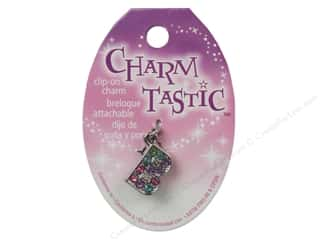 beading & jewelry making supplies: Janlynn Charmtastic Clip-On Charm Letter B