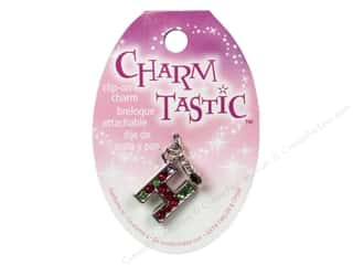 beading & jewelry making supplies: Janlynn Charmtastic Clip-On Charm Letter H