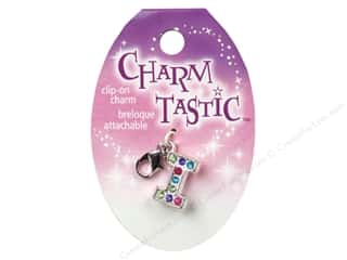 beading & jewelry making supplies: Janlynn Charmtastic Clip-On Charm Letter I