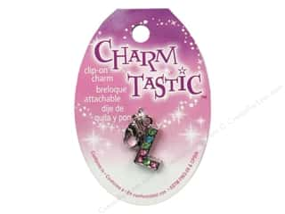 beading & jewelry making supplies: Janlynn Charmtastic Clip-On Charm Letter L