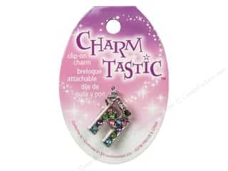 beading & jewelry making supplies: Janlynn Charmtastic Clip-On Charm Letter M