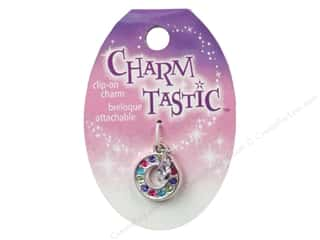 beading & jewelry making supplies: Janlynn Charmtastic Clip-On Charm Letter O