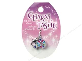 beading & jewelry making supplies: Janlynn Charmtastic Clip-On Charm Letter P