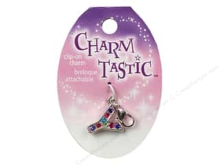 beading & jewelry making supplies: Janlynn Charmtastic Clip-On Charm Letter Y