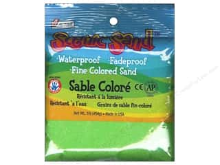 craft & hobbies: Activa Scenic Sand 1 lb. Light Green