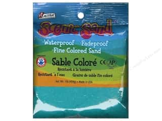 craft & hobbies: Activa Scenic Sand 1 lb. Turquoise