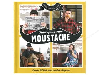 Collins & Brown Knit Your Own Moustache Book by Vicky Eames