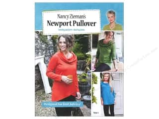Pattern $2-$4 Clearance : Nancy Zieman's Newport Pullover Pattern