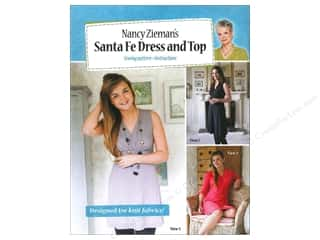 Pattern $2-$4 Clearance : Nancy Zieman's Santa Fe Dress and Top Pattern