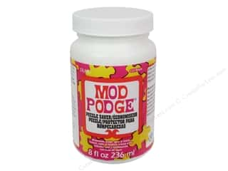 glues, adhesives & tapes: Plaid Mod Podge 8 oz. Puzzle Saver