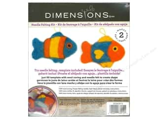 Weekly Specials Needle Felting: Dimensions Needle Felting Kits Cutouts Fish