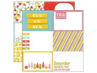 Summer Fun: Echo Park 12 x 12 in. Paper Fun In The Sun (15 sheets)