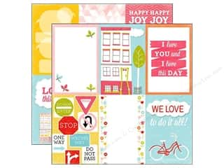 Summer Fun: Echo Park 12 x 12 in. Paper Fun In The Sun Collection Love Today (15 sheets)