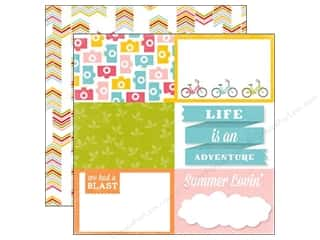Summer Fun: Echo Park 12 x 12 in. Paper Fun In The Sun Collection Neighborhood (15 sheets)