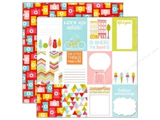 Summer Fun: Echo Park 12 x 12 in. Paper Fun In The Sun Collection Outside (15 sheets)