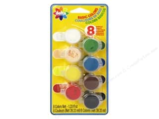 craft & hobbies: Delta Ceramcoat Paint Pot Set Basic Colors - 8 Colors
