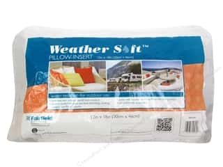 craft & hobbies: Fairfield Pillow Insert 12 x 18 in. Weather Soft
