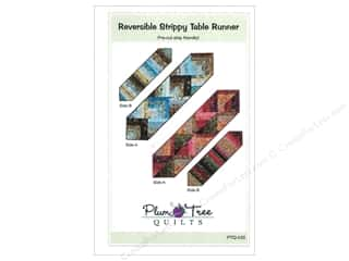 Table Runners / Kitchen Linen Patterns: Plum Tree Quilts Reversible Strippy Table Runner Pattern