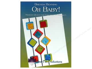 Books Clearance: Bear Paw Productions Oh Baby! Modern Quilts For Children Book by Brenda Henning