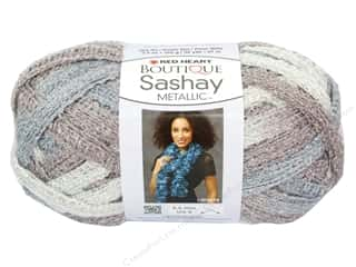sashay: Red Heart Boutique Sashay Yarn #9946 Metallic Opal 30 yd.