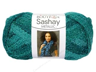 sashay: Red Heart Boutique Sashay Yarn #9944 Metallic Malachite 30 yd.