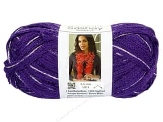 Clearance Red Heart Pomp A Doodle Yarn: Red Heart Boutique Sashay Yarn #1575 Sparkle Lilac 35 yd.