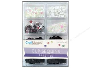 craft & hobbies: Craft Medley 7 mm Cupped Sequins Classic