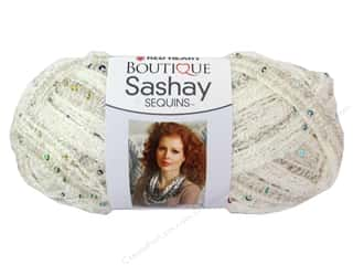 sashay: Red Heart Boutique Sashay Yarn #1101 Sequin Champagne 20 yd.