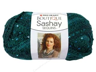 sashay: Red Heart Boutique Sashay Yarn #1505 Sequin Fiji 20 yd.
