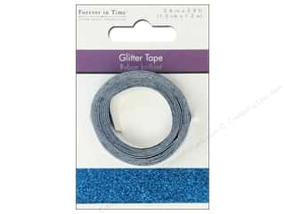 """Weekly Specials Glitter: Multicraft Adhesive Tape Glitter 5/8"""" Turquoise 3.9ft"""
