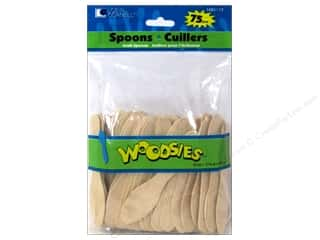 Woodsies Craft Spoons 75 pc.