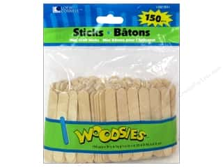 Woodsies Craft Stick Mini 150 pc.