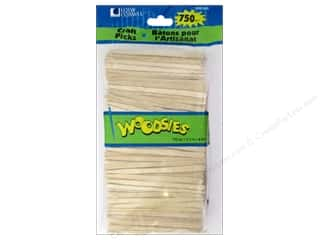 Kids Crafts: Woodsies Craft Picks 3 1/2 in. 750 pc.