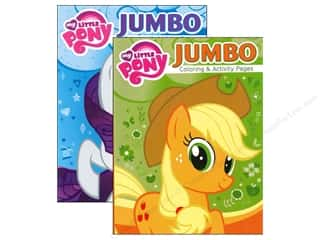 Bendon Jumbo Coloring & Activity Book Assorted My Little Pony
