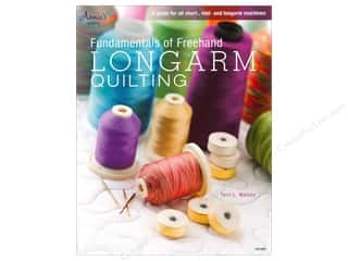 books & patterns: Annie's Fundamentals Of Freehand Longarm Quiltng Book by Terri L. Watson