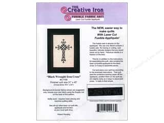 Books & Patterns: Creative Iron Black Wrought Iron Cross Applique & Pattern